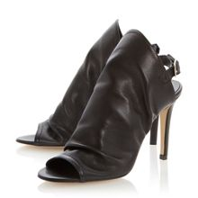 Hope leather stiletto buckle sandals