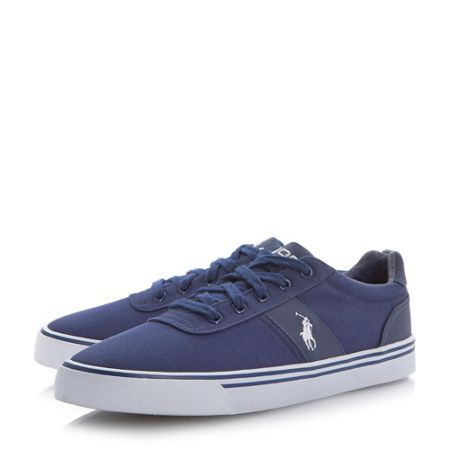 Polo Ralph Lauren Hanford lace up canvas trainers