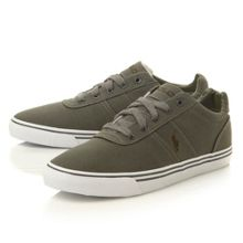 Hanford vulcanised canvas trainers