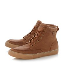 Tedd warm lined hi top trainers