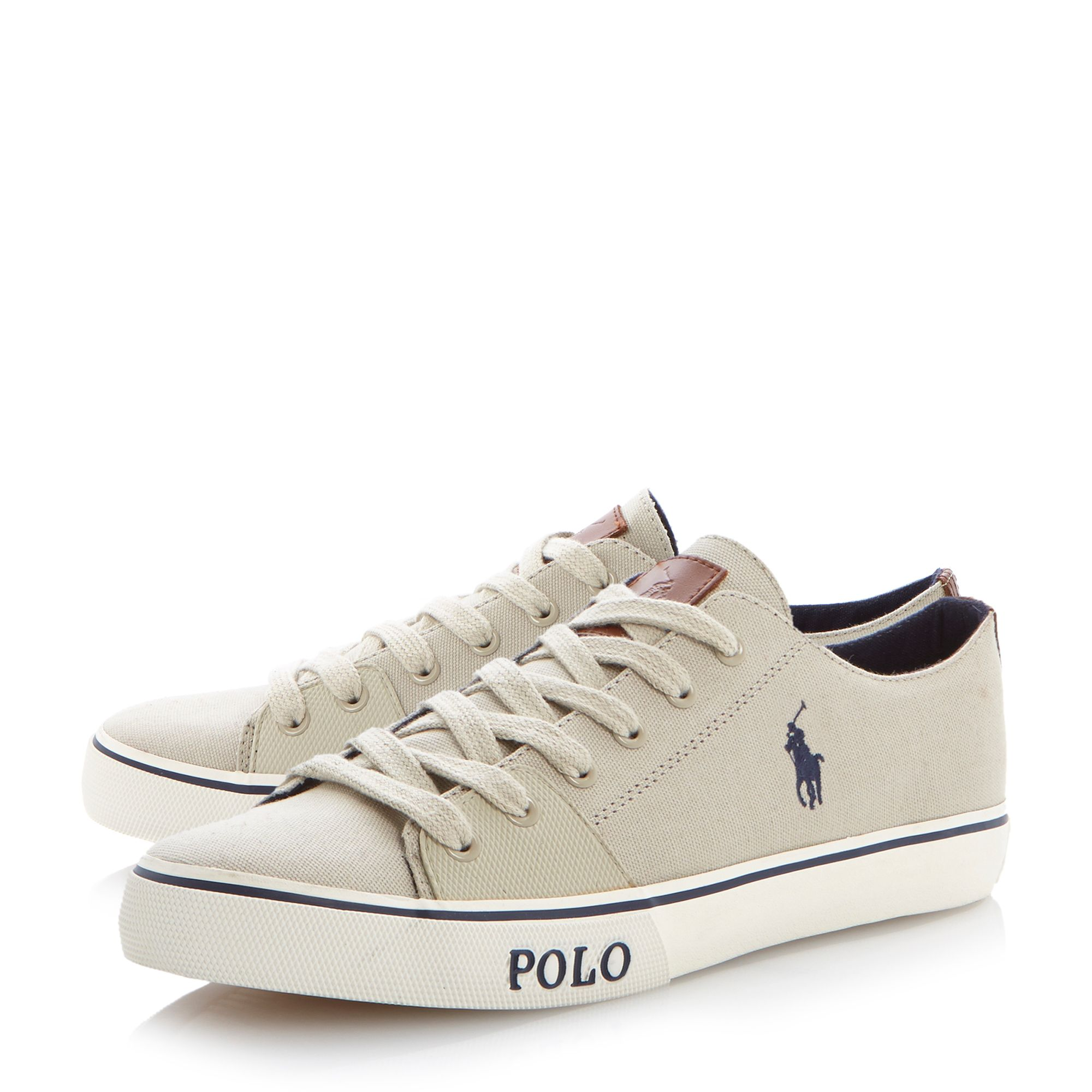 Cantor low tab detail trainers