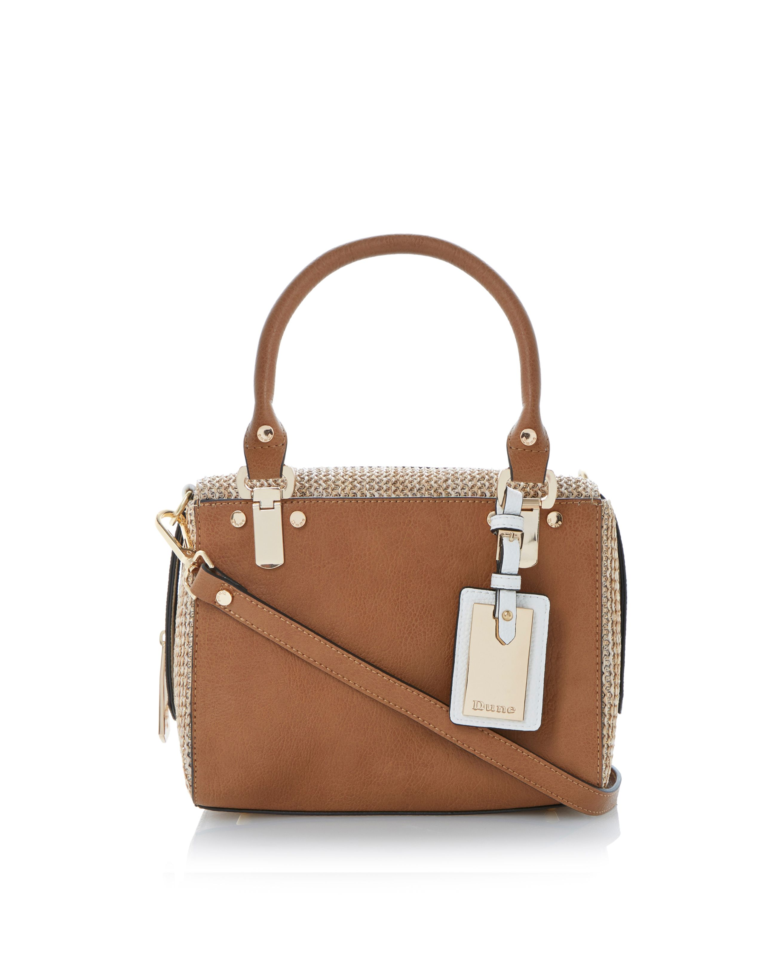 Dickley boxy zip around top handle bag