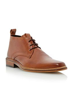 Montenegro lace up square toe formal boots