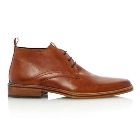 Dune Montenegro lace up square toe formal boots