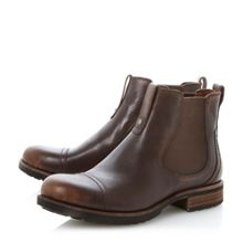 Gallion elasticated chelsea boots