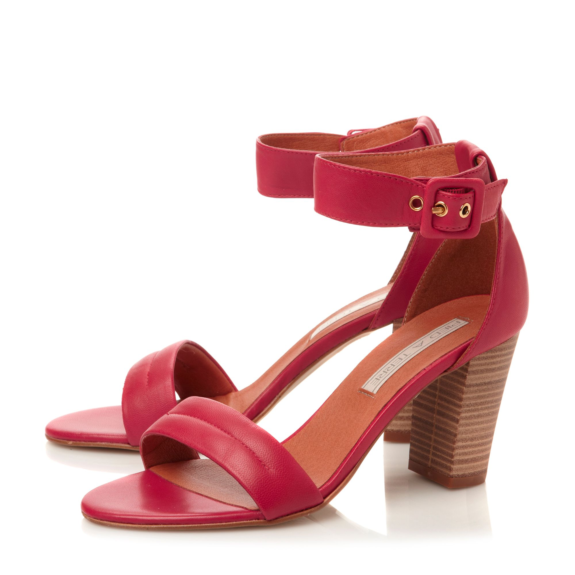 Fragrant 2 part block heel sandals