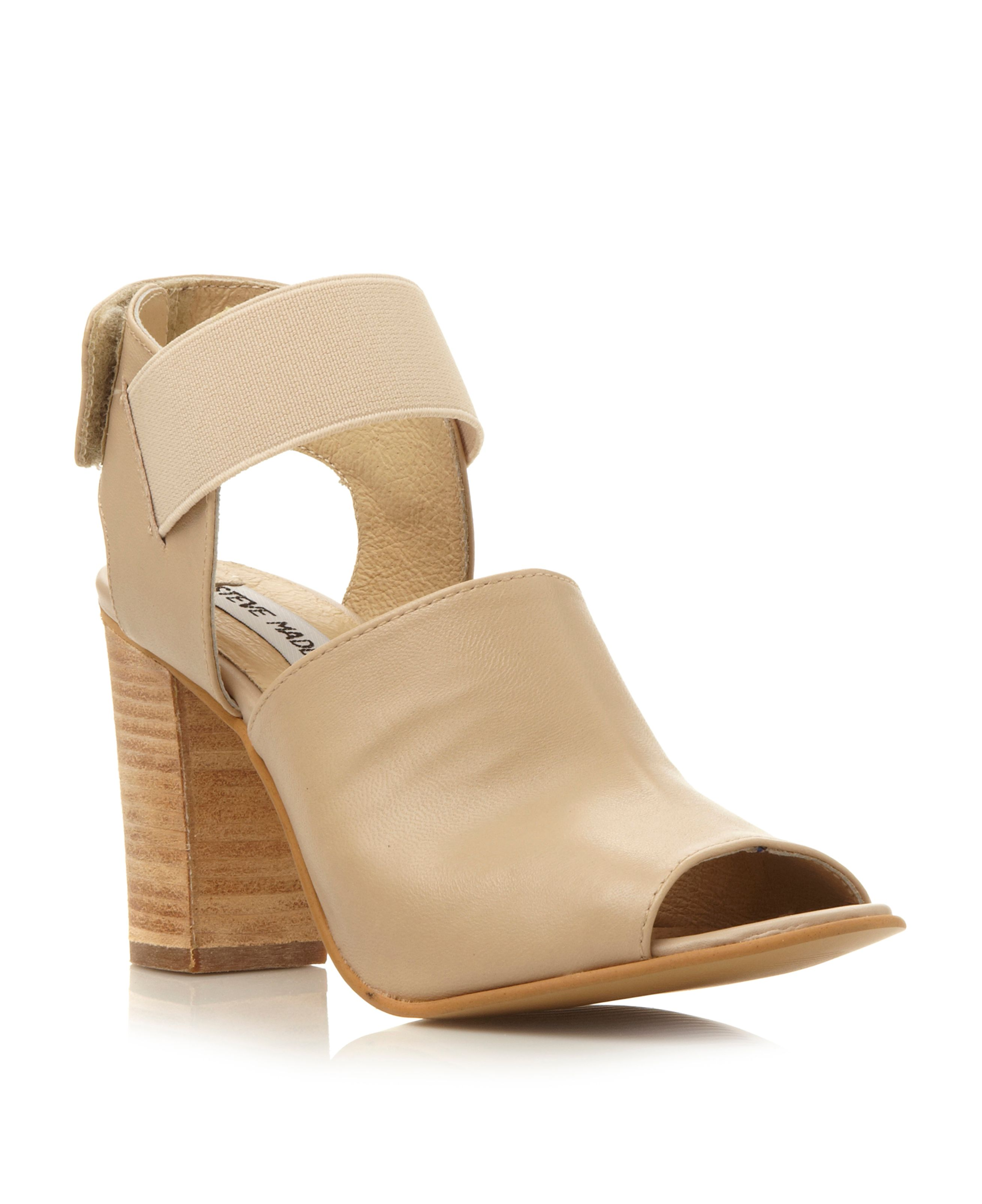 Savage stacked heel sandals