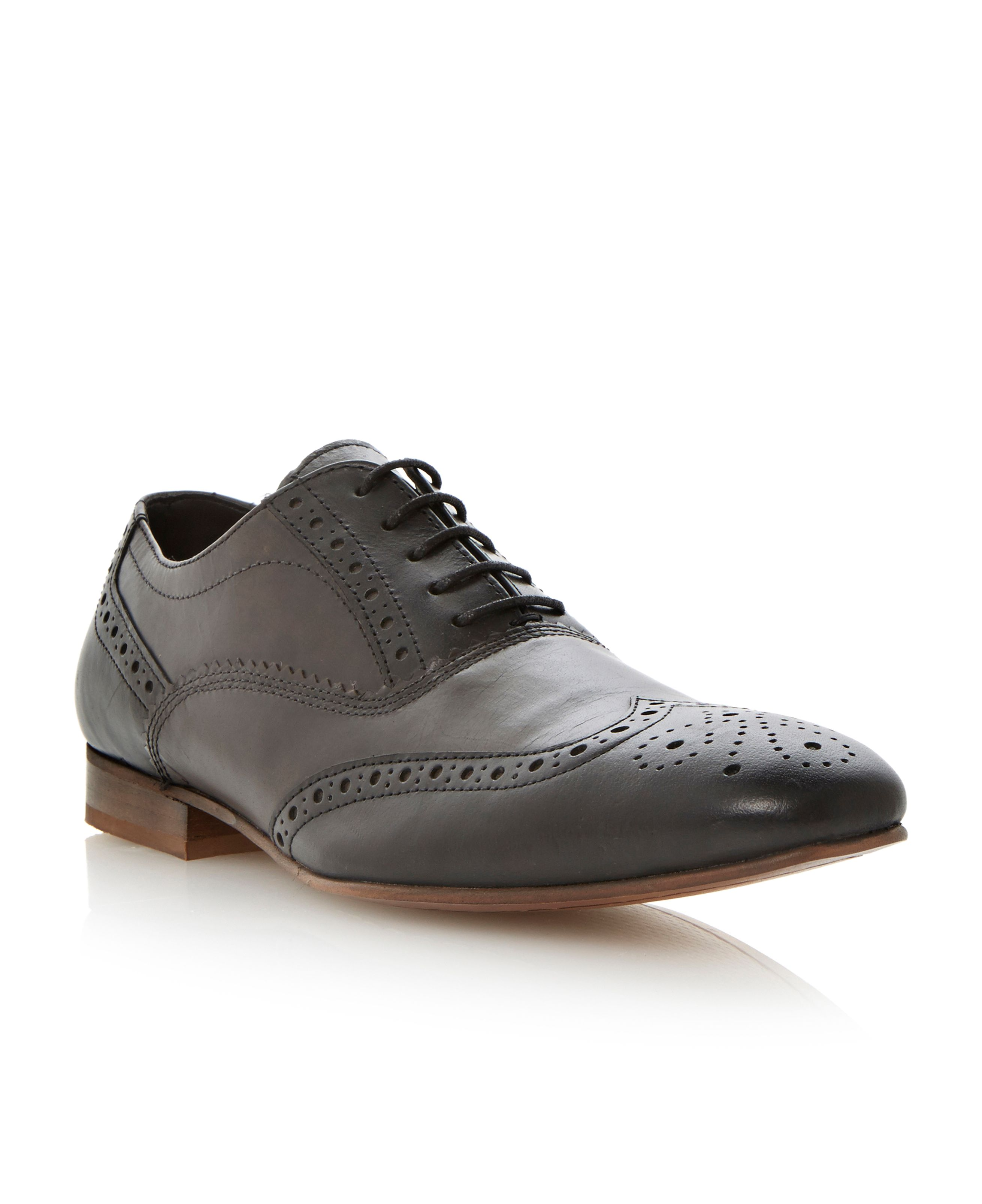 Amersham two tone brogues