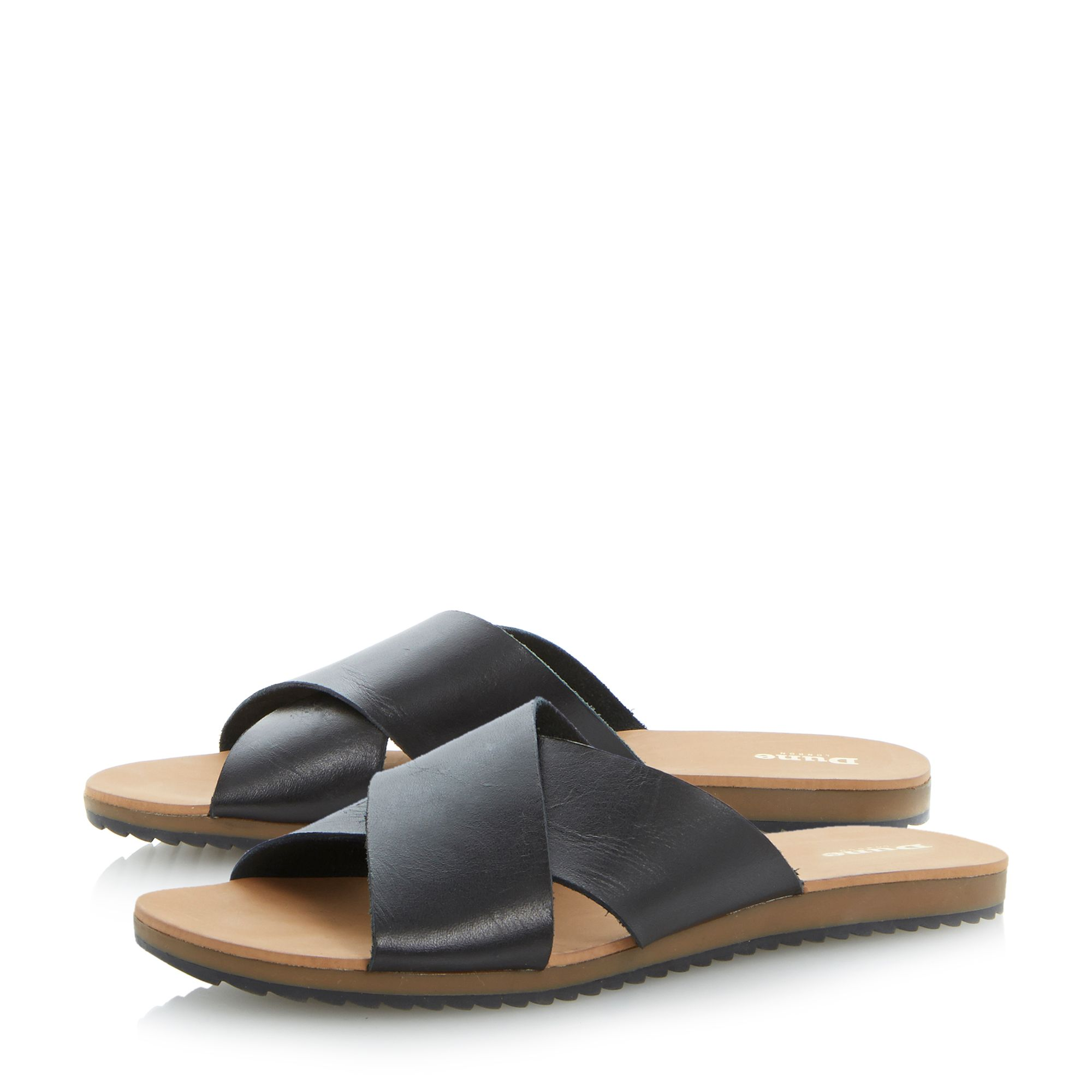 Jaiden cross strap sliders