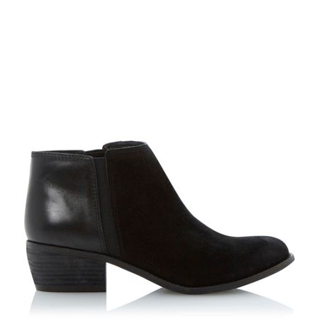 Dune Penelope leather low ankle boots