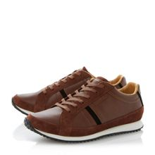 Mortain lace up runner trainers