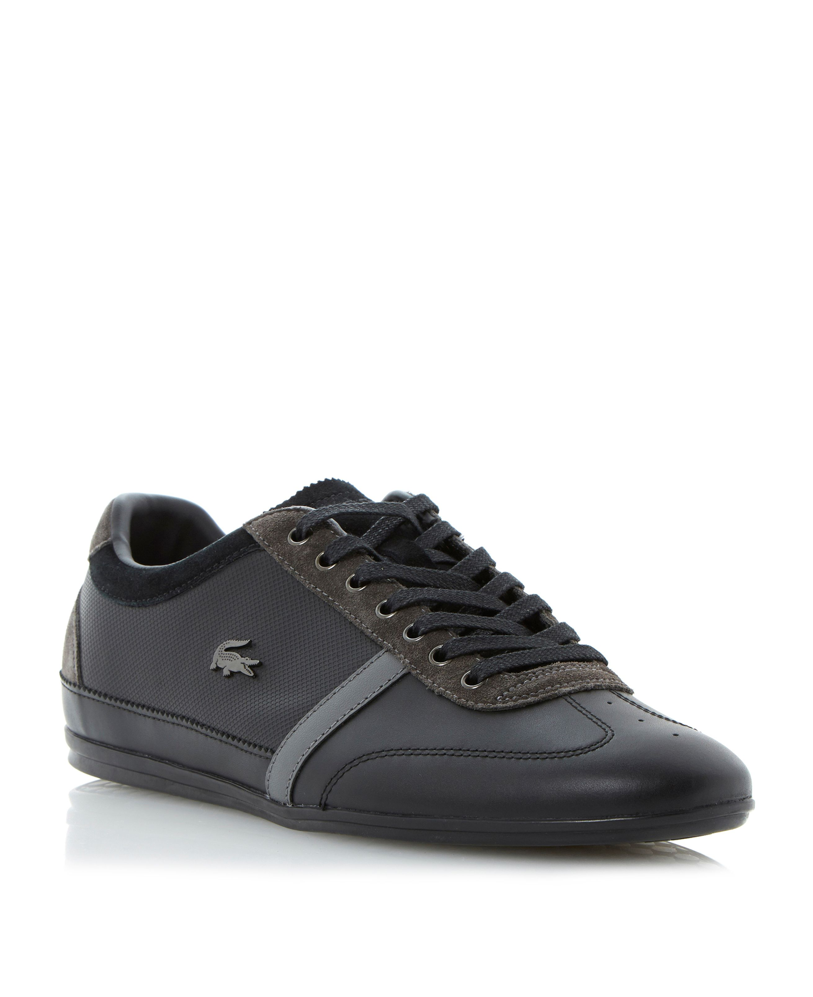 Misano 31 premium leather lace up trainers