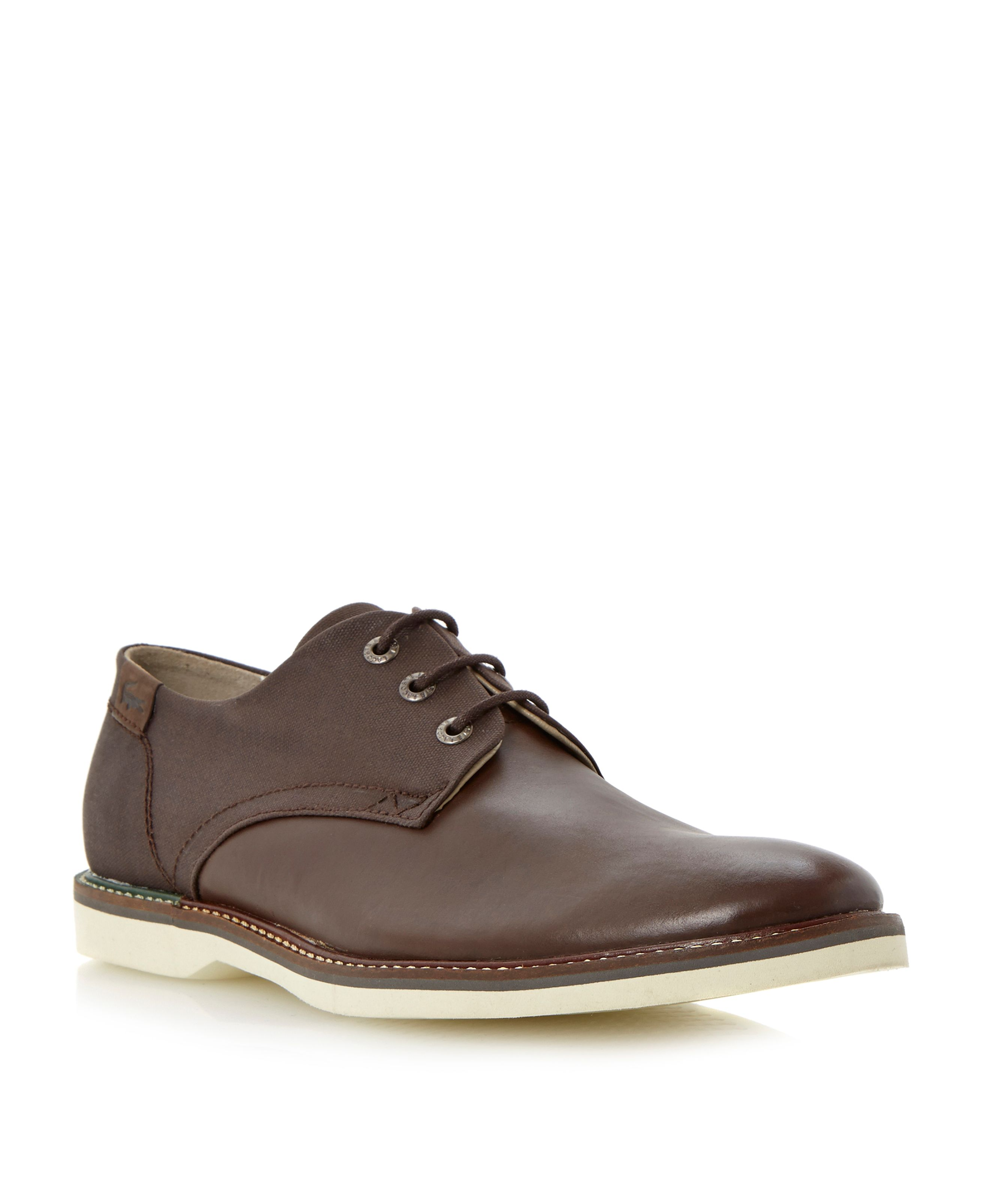 Sherbrooke lace up two tone gibson shoes