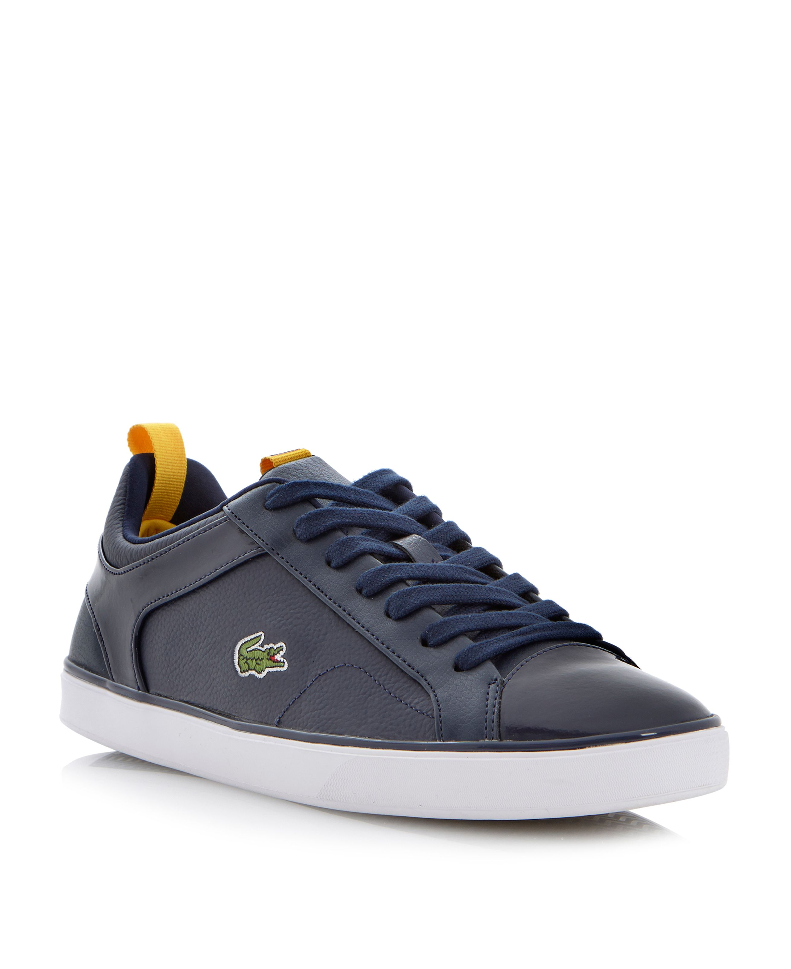 Ventron nal lace up logo trainers