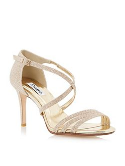 Highlife strappy heeled sandals