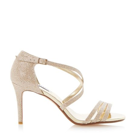 Dune Highlife strappy heeled sandals