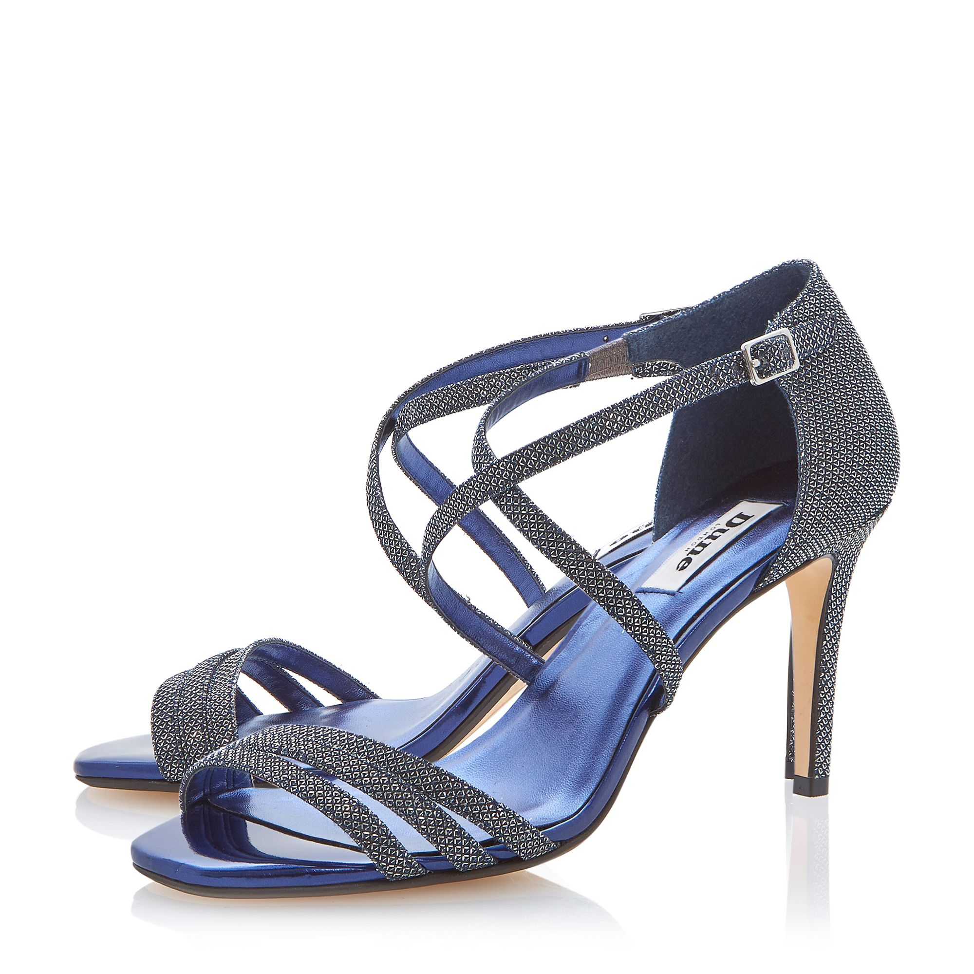 Highlife lurex strappy sandals