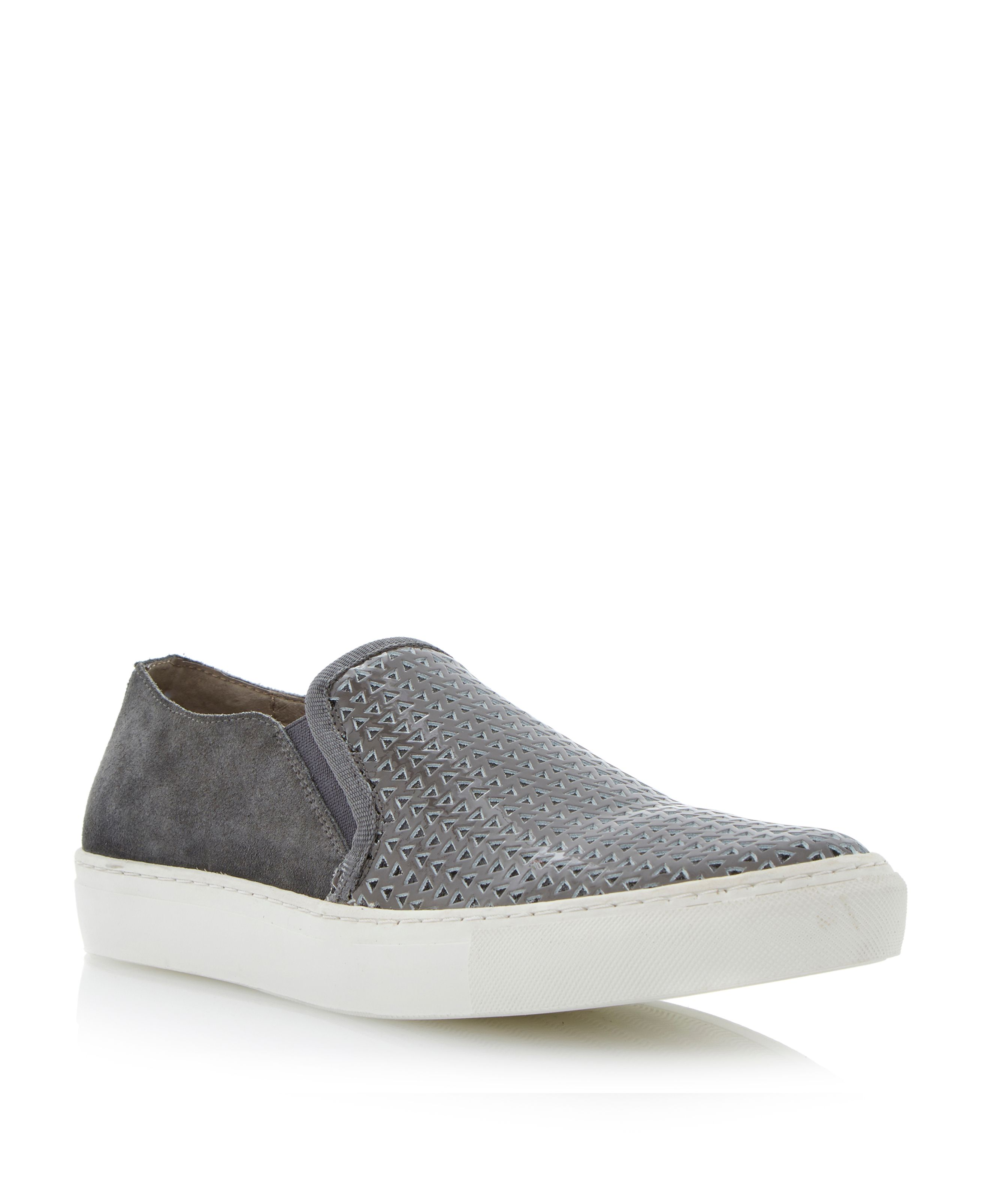 Garston elasticated cs perforated shoes