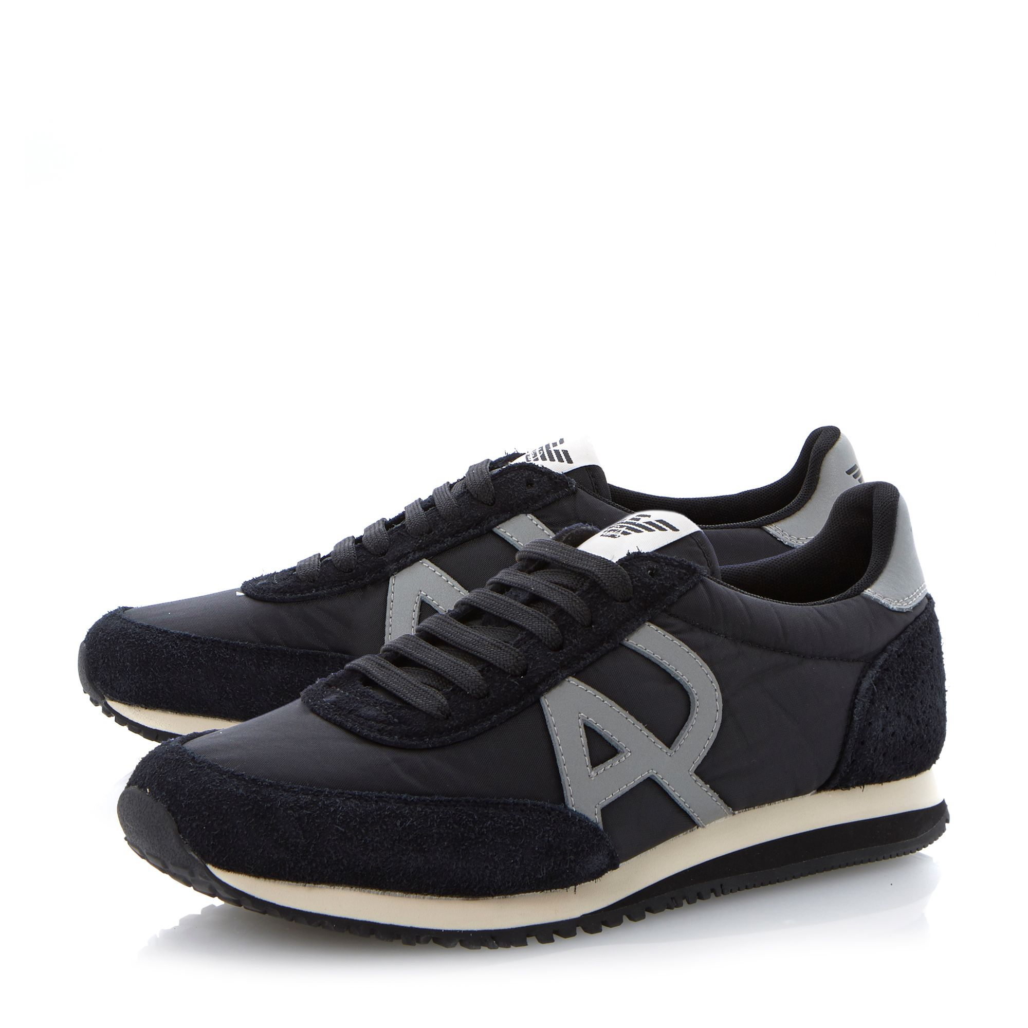Combo runner lace up trainers