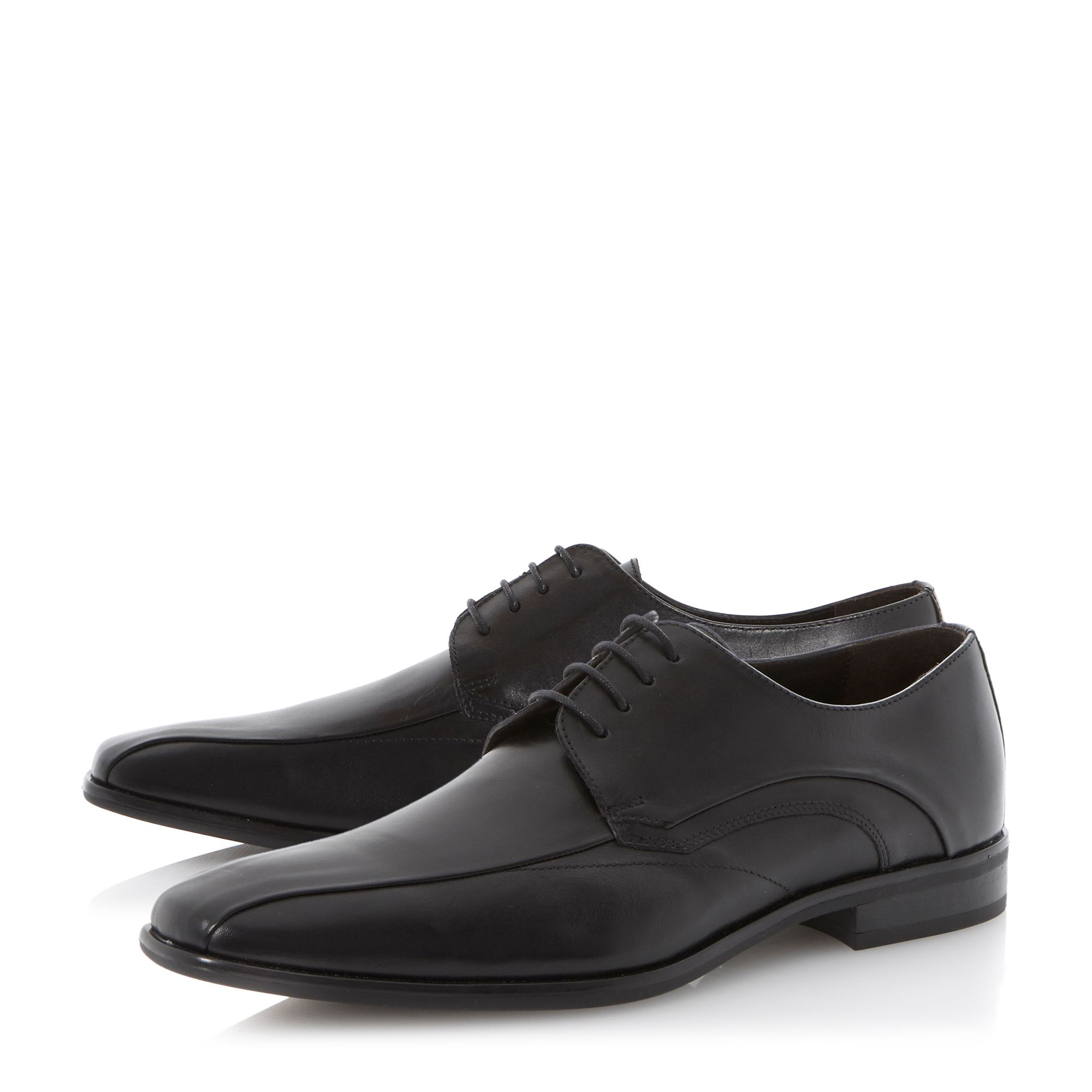 Reigate concealed tramline lace up shoes