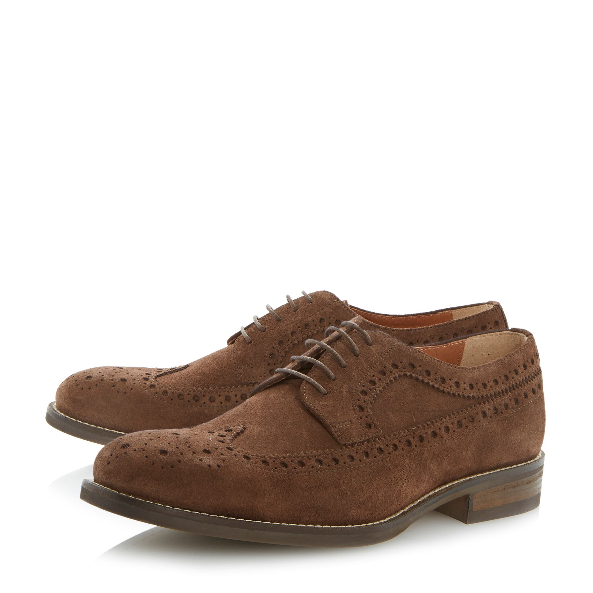 Brownhill casual lace up brogues