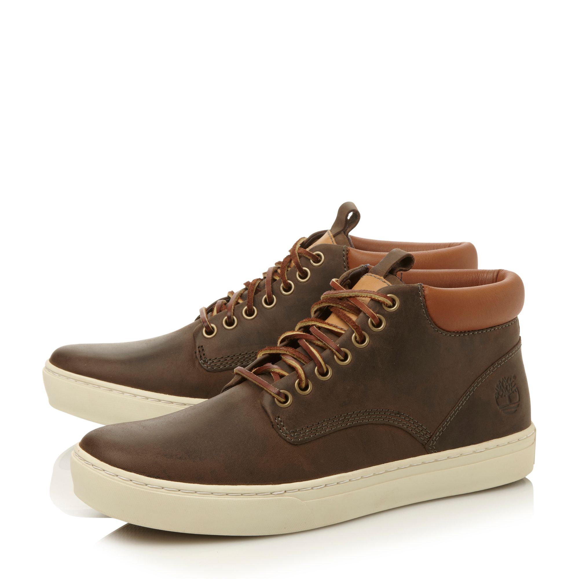 Cupsole chukka hitop lace up boot
