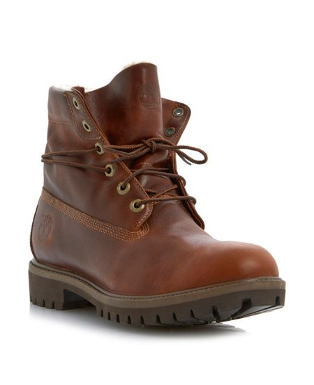 Timberland 6833a heavy lace up boots