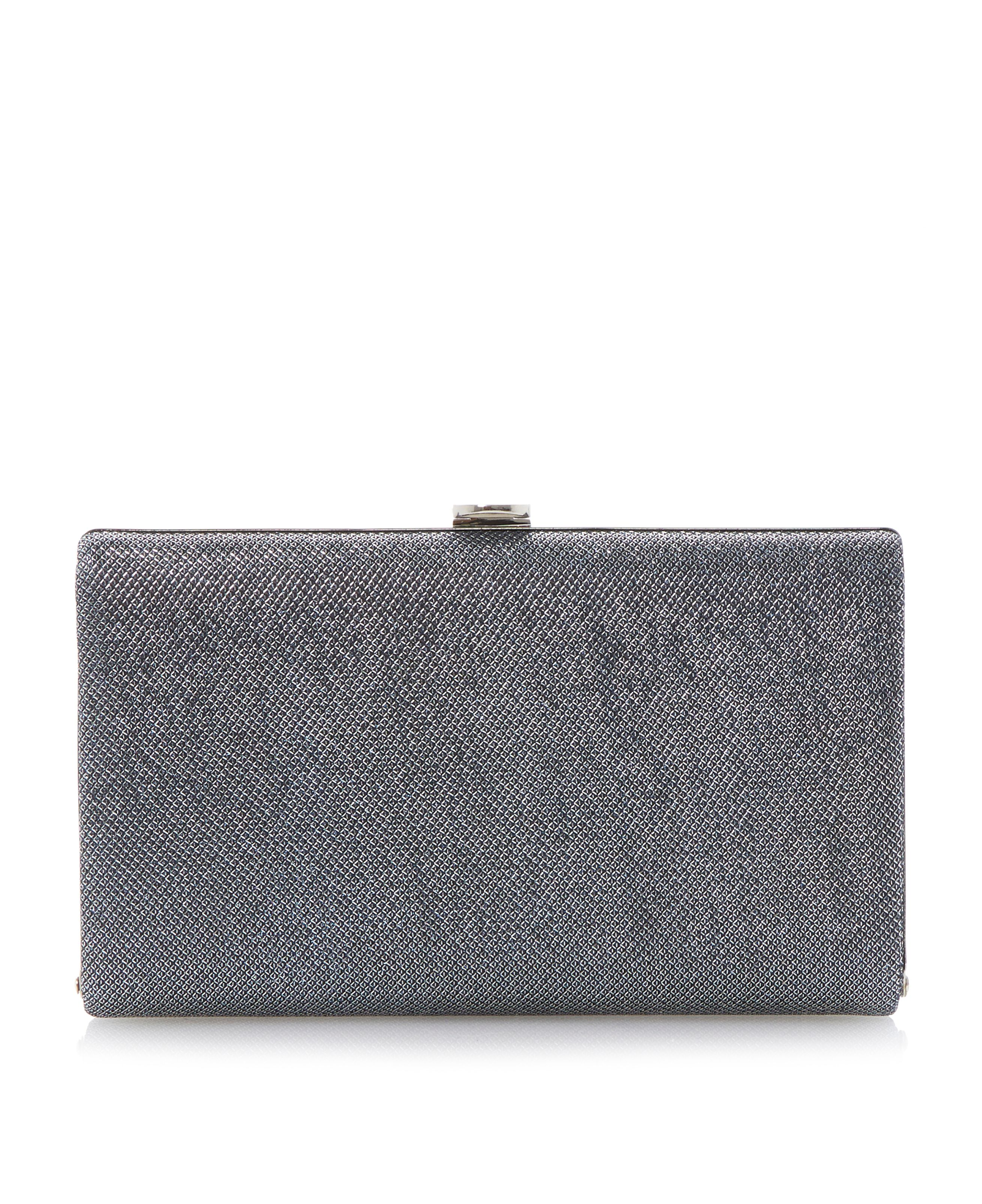 Burex lurex sparkle clutch