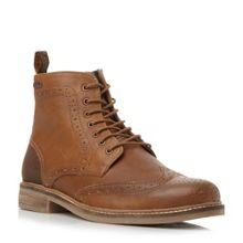 Belsay wingtip lace up boots