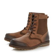 Corin lace up cleated sole boots