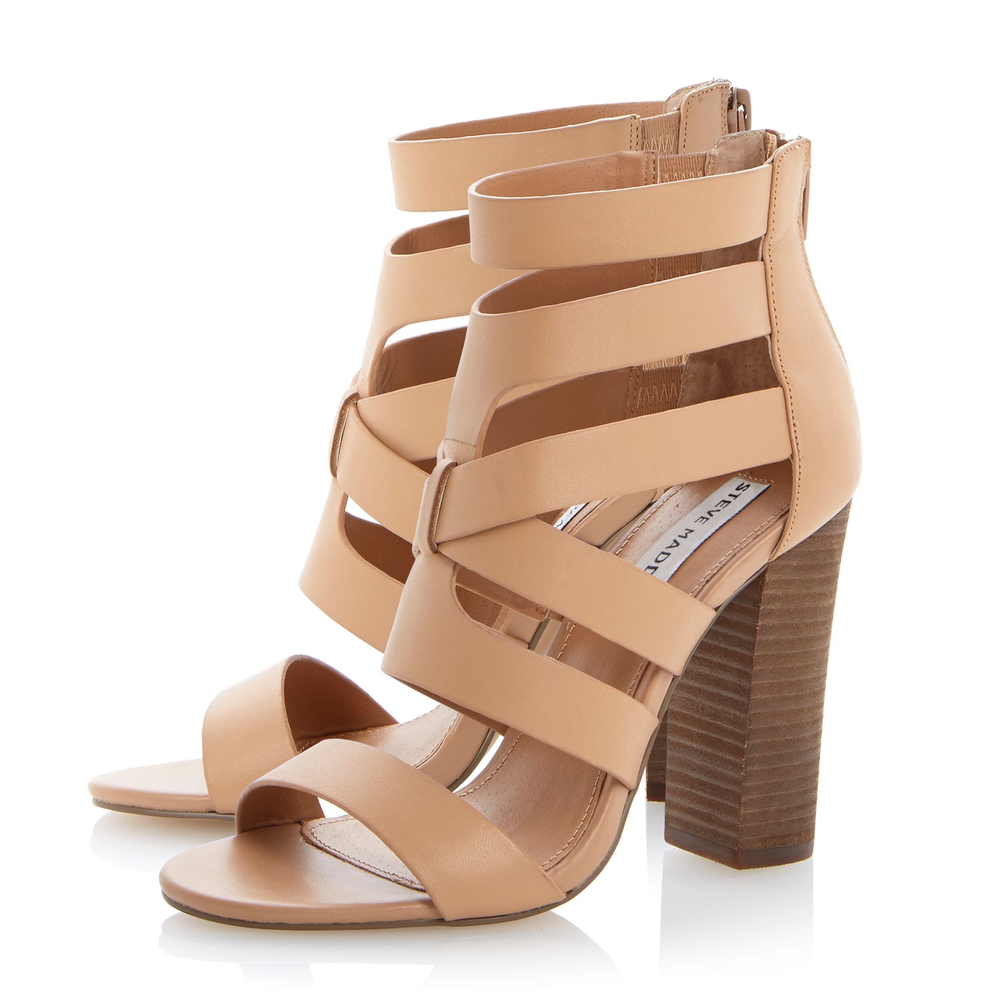 Cruizz strappy cut out sandals