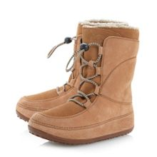 Mukluk Moccasin Style Lace Up Boot