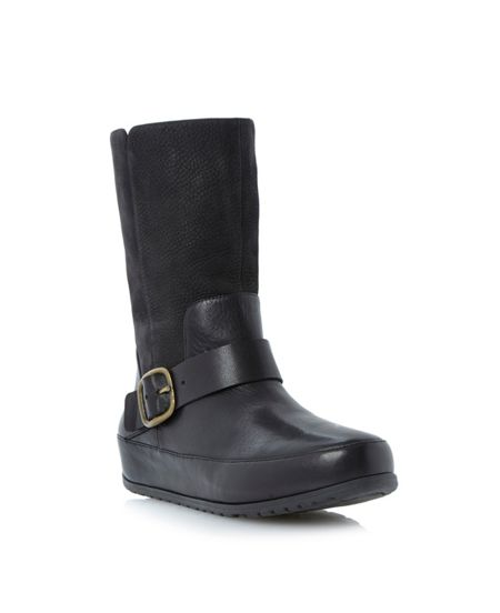 FitFlop Dueboot chelsea lace up ankle boot