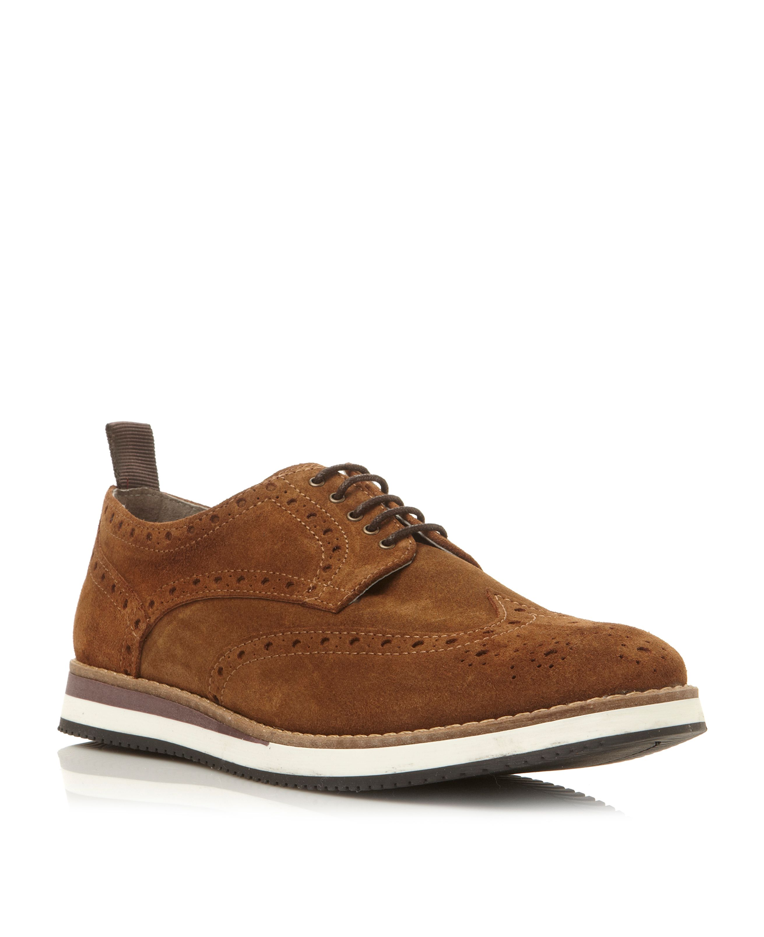 Brotherhood lace up brogue sporty shoes