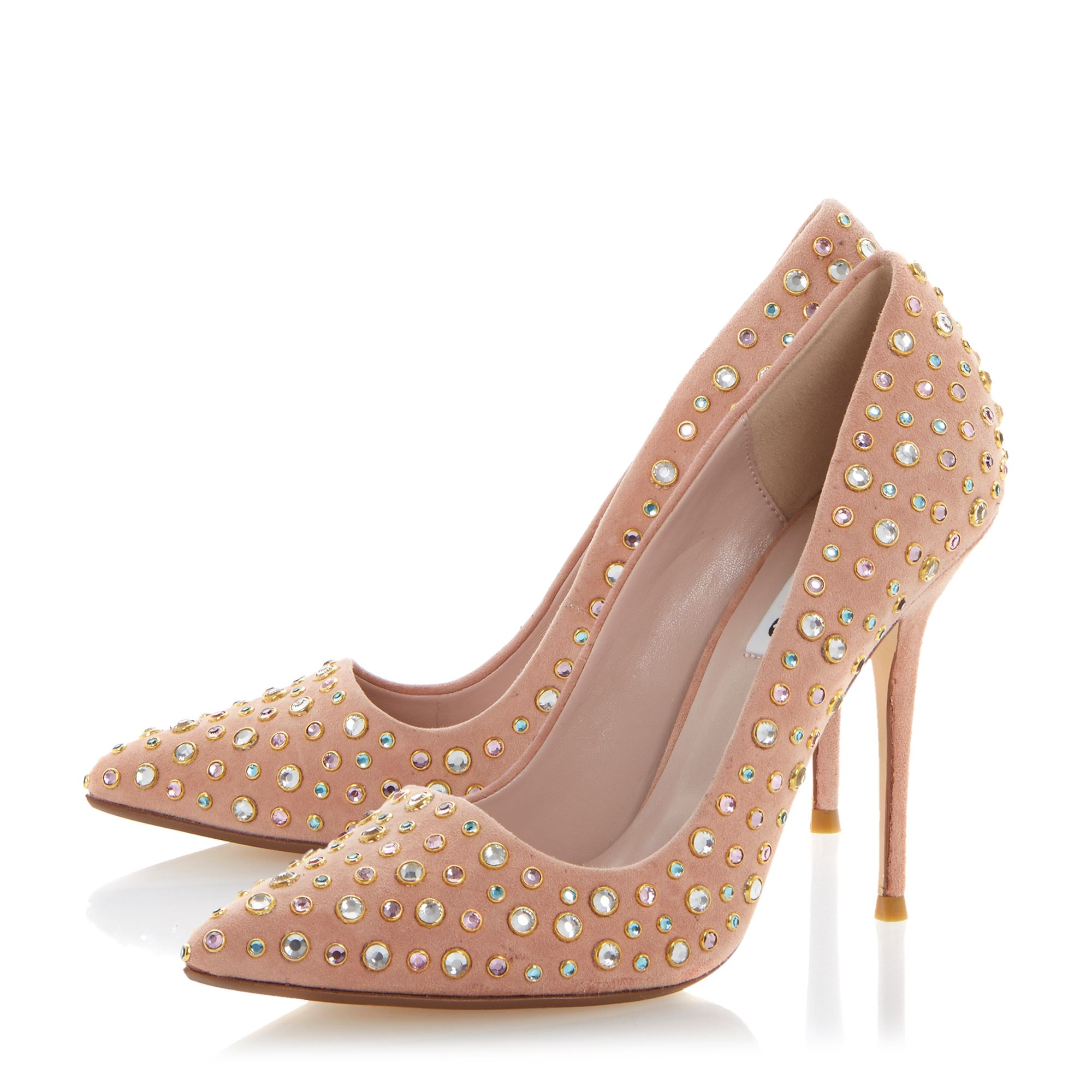 Bethanie Jewelled Stud Pointed Courts