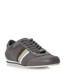 Victorie bubble print lace up trainers