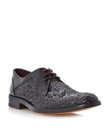 Flaava glitter lace up oxford shoes