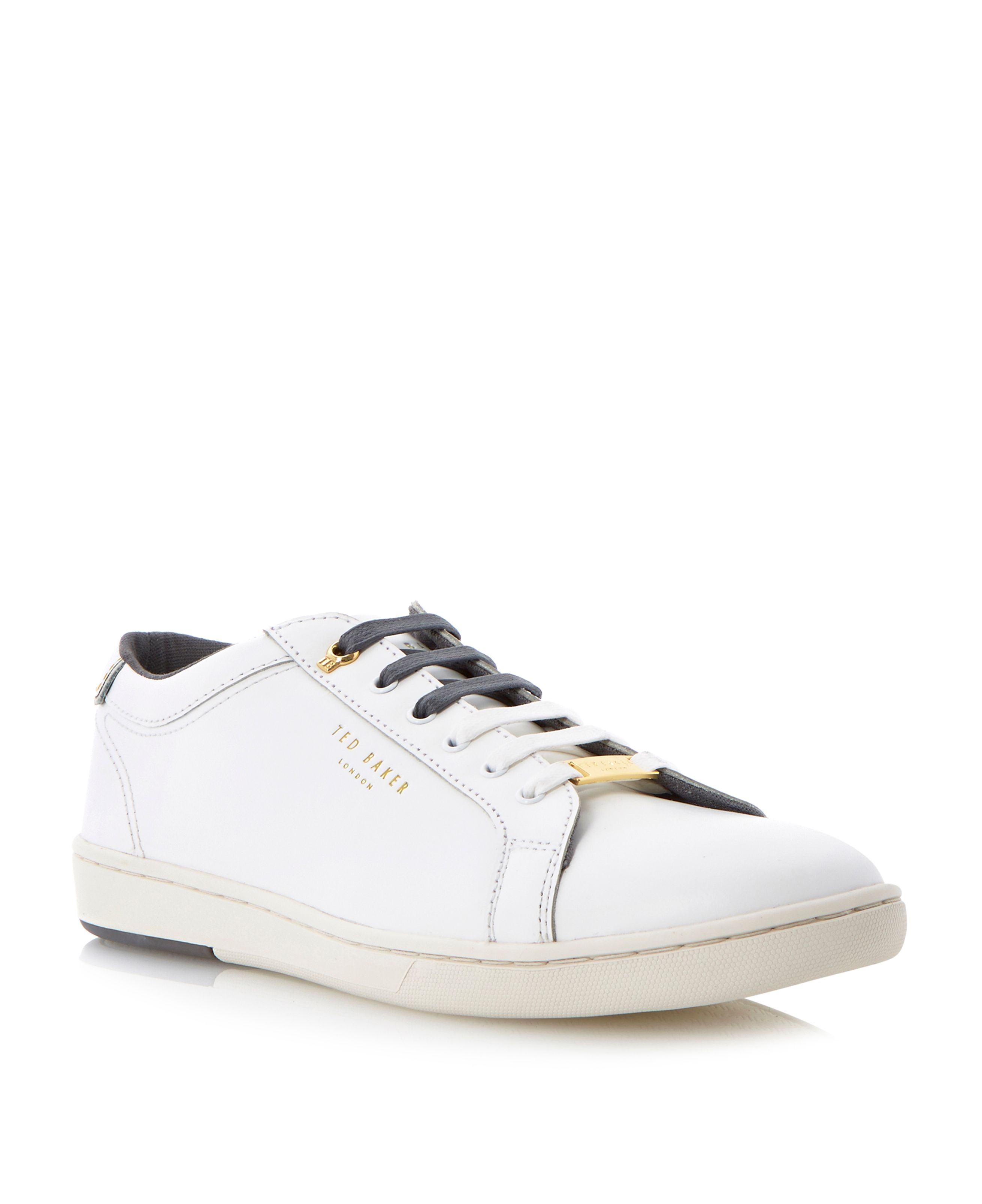 Theeyo logo lace up trainers