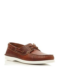 Dune Boat Party Lace Up Classic Leather Boat