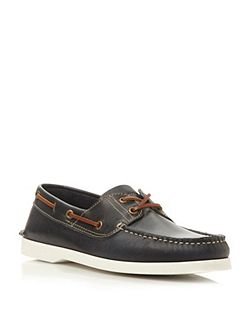 Boat Party Lace Up Classic Leather Boat Shoes