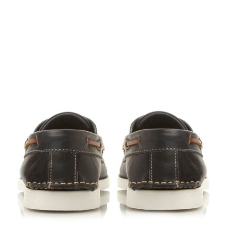 Dune Boat Party Lace Up Classic Leather Boat Shoes