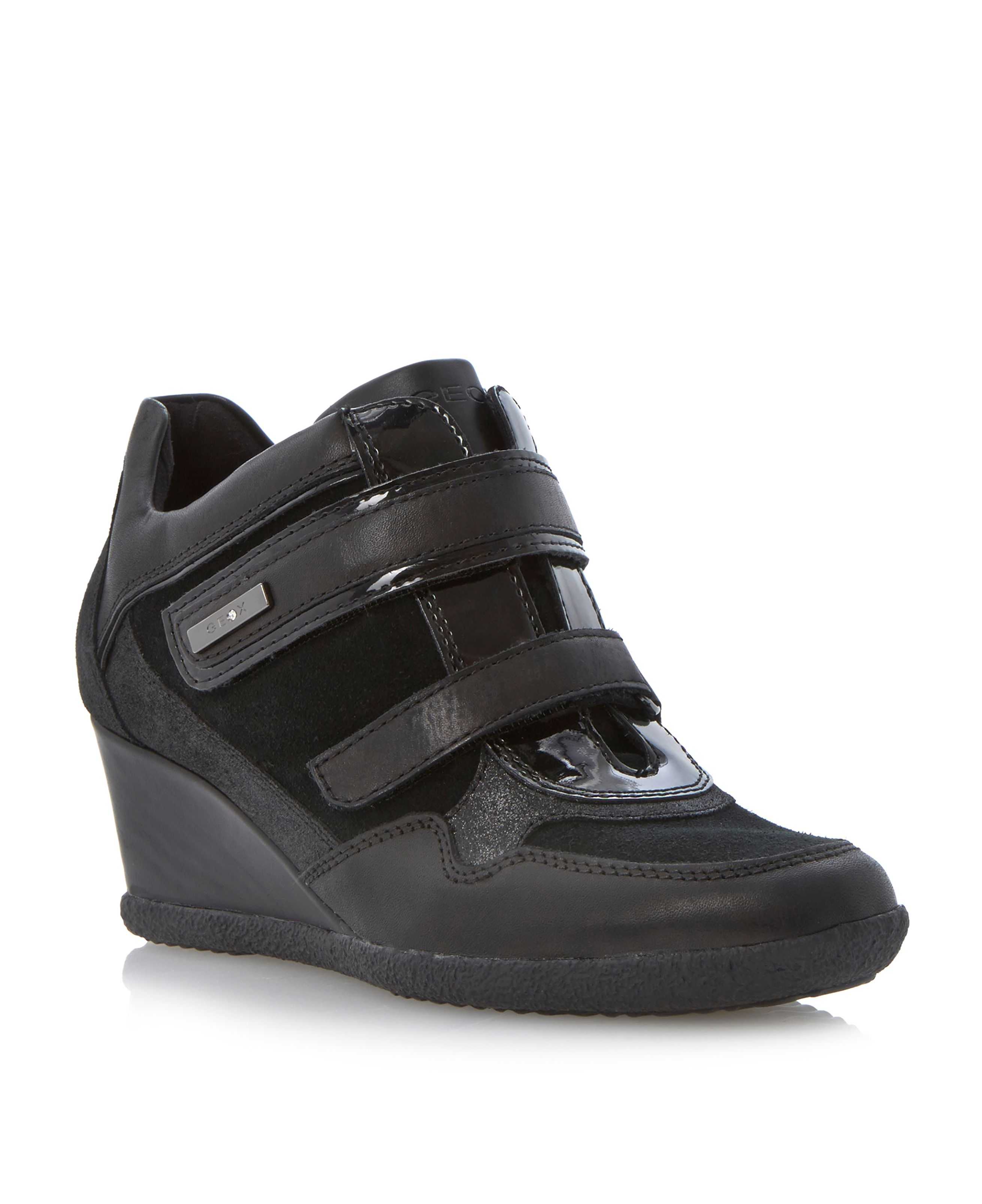 Amelia velcro sporty wedges