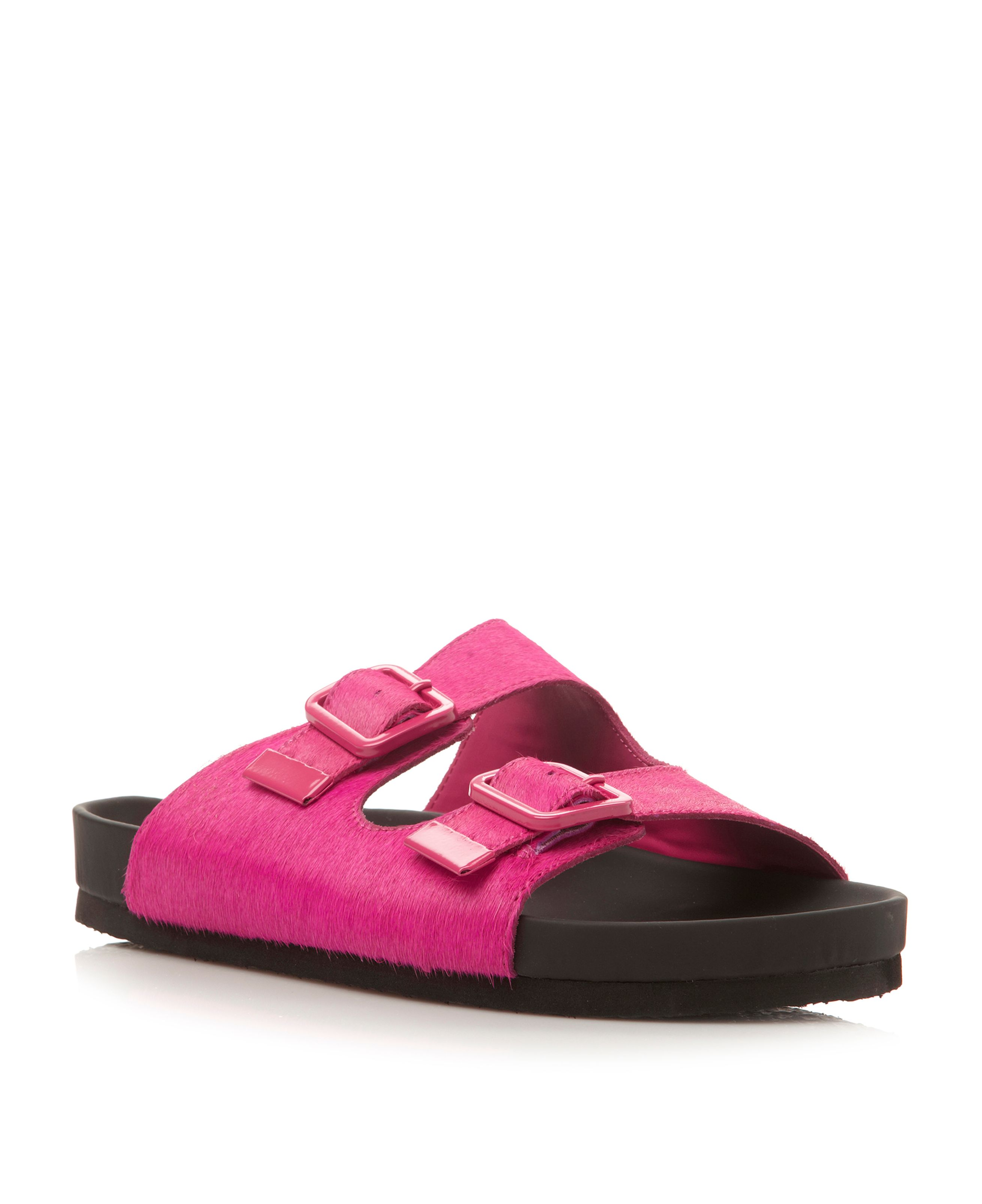 Boundree double strap mule sandals