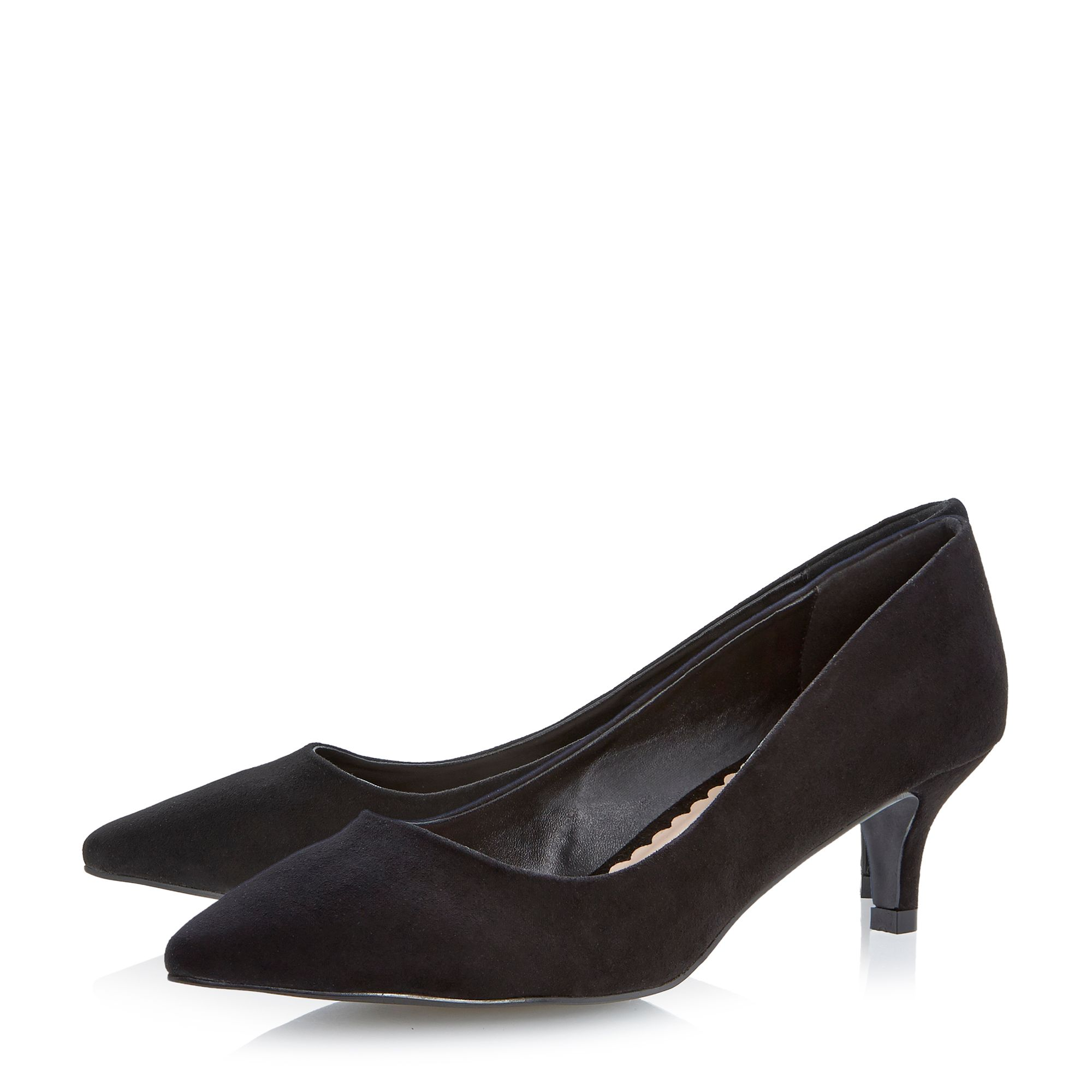 Aneka kitten heel court shoes