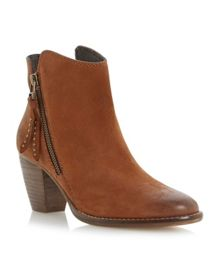 Whysper Zip Detail Ankle Boot