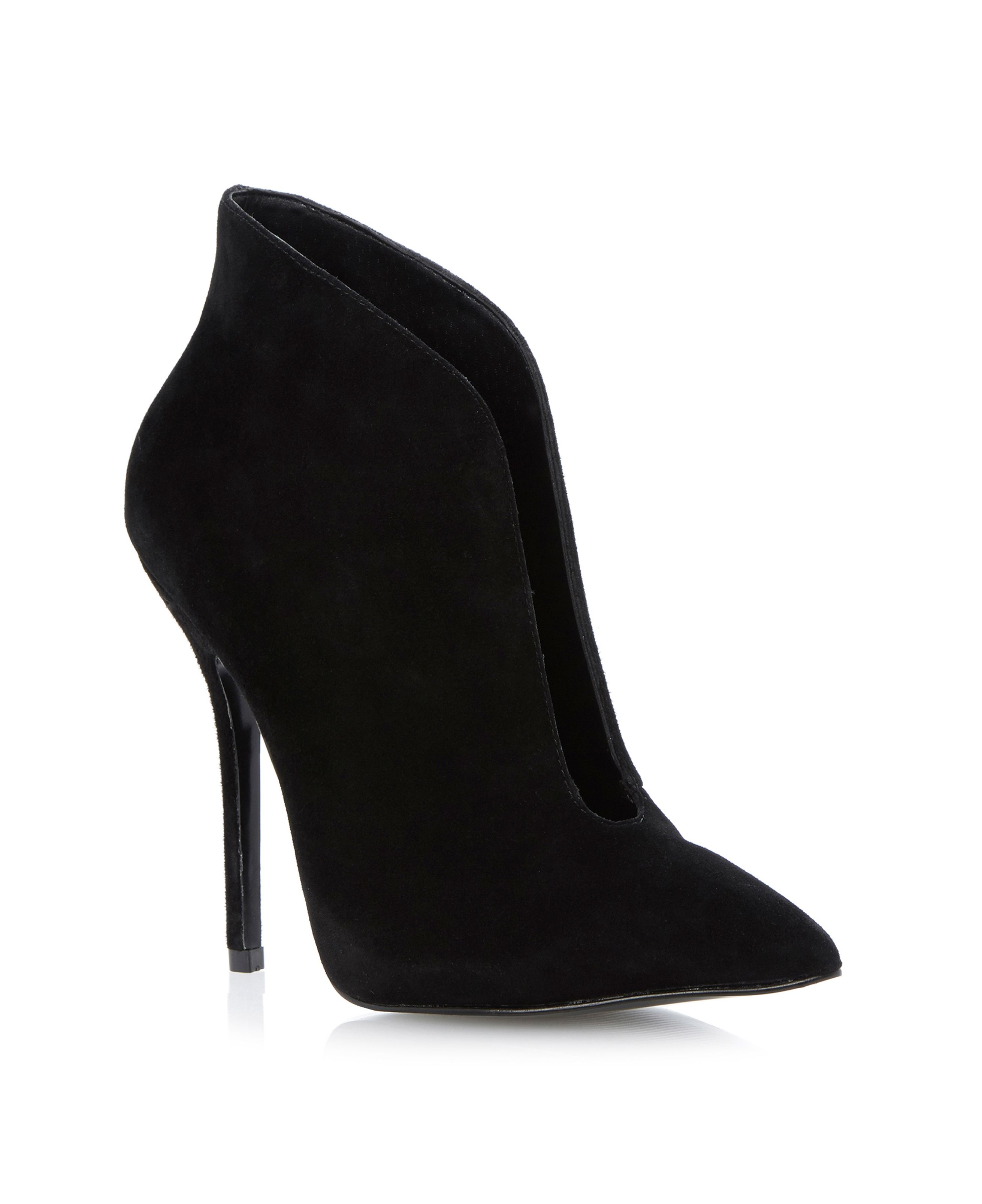 Derived sm open throat ankle boots