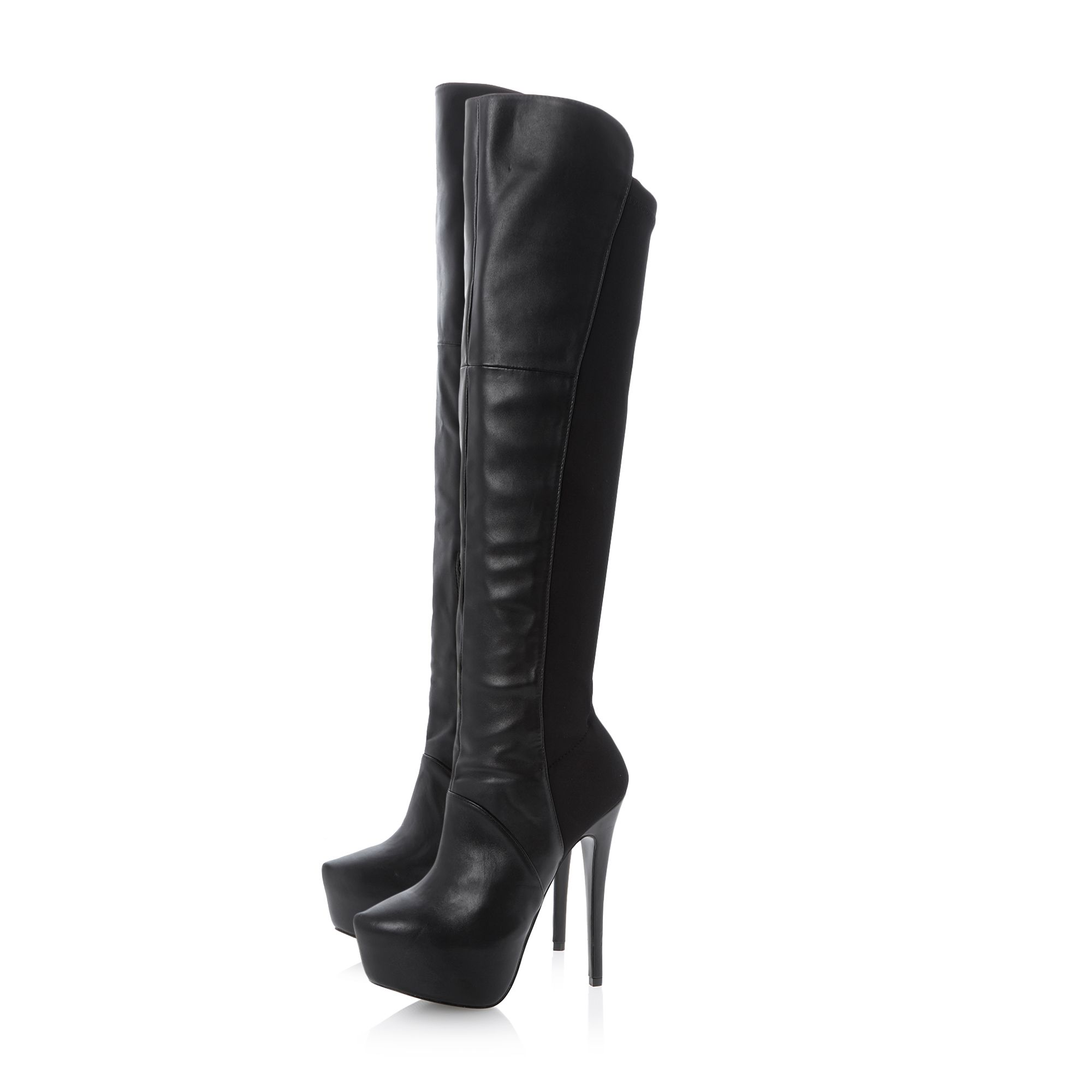 Hightng sm platform stretch boots