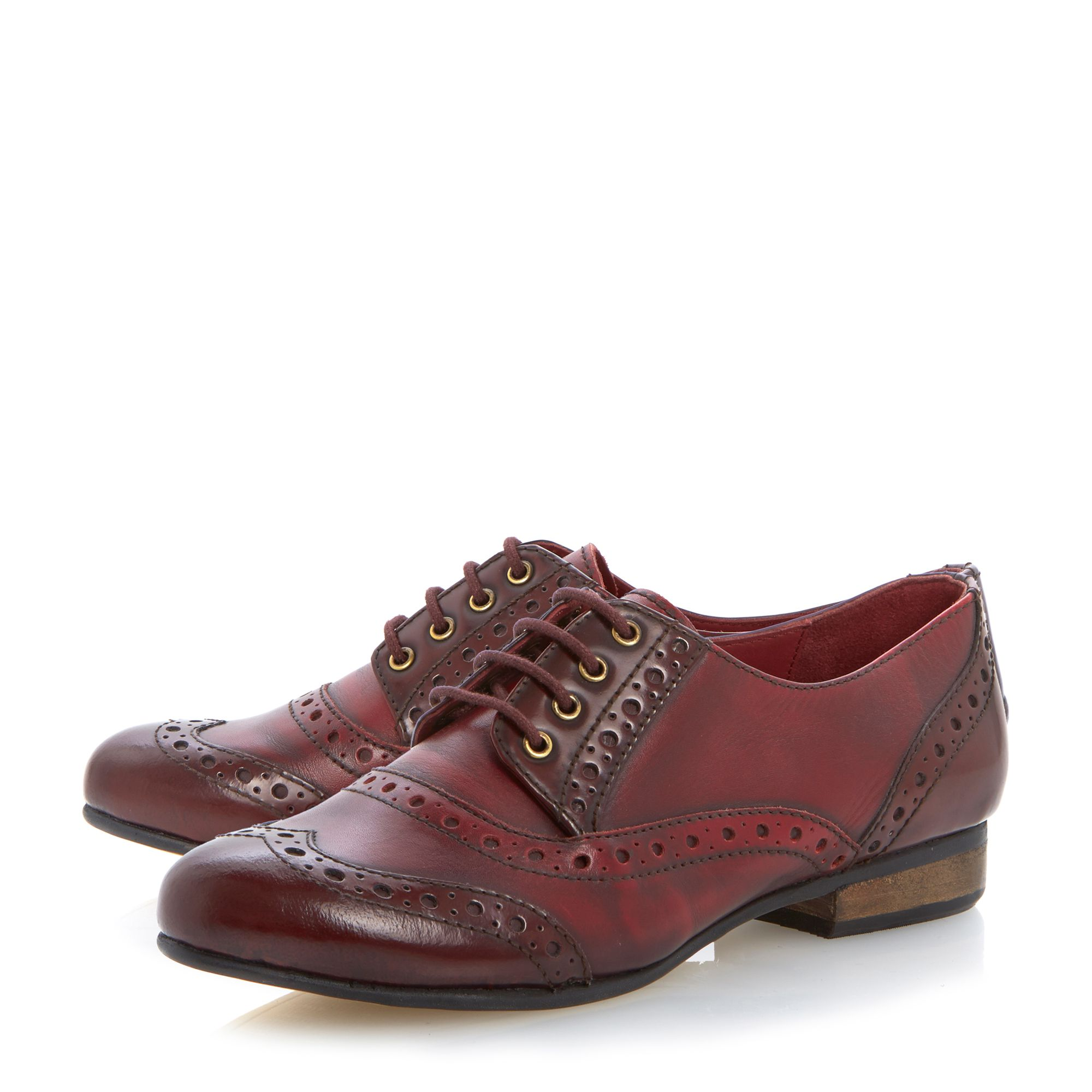 Linfred leather lace up brogues