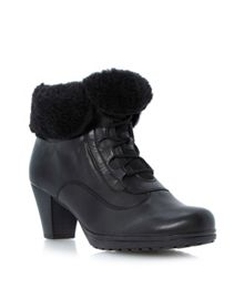 Cosmic fold down warm lined boots