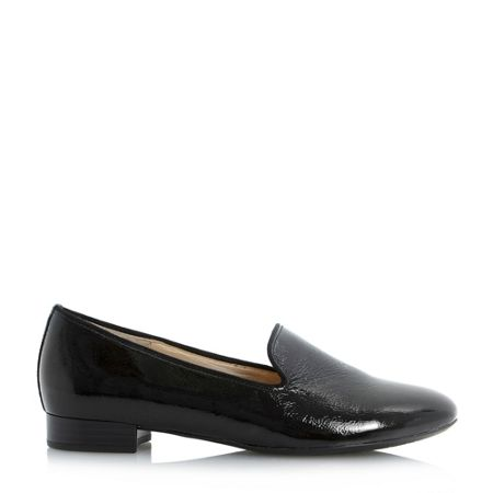 Gabor Abalina patent slipper cut loafers